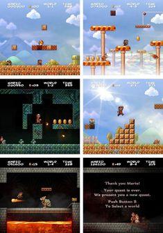 Super Mario Bros HD!