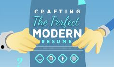 Looking for a new job? Then make sure your resume is modern and attractive. Hyperlinks, photos and videos can show your are forward-thinking and creative.