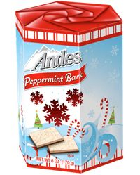 Andes Peppermint Bark, like all Tootsie candies, is made in a peanut-free and tree-nut-free facility.