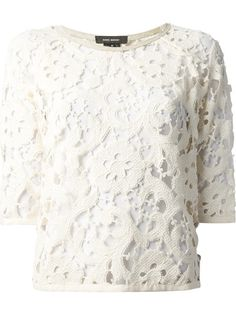 ISABEL MARANT Blusa Off White
