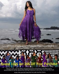Shop our SALE on EBay to receive the discounts mentioned in this flyer. http://stores.ebay.com/lotusinthemoonlight #sale #promo #discounts #save #fashion #womensclothing #plussize #misses #designer #chic #lagenlook #boho #gypsy #fashionable