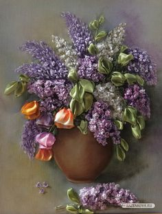 Amazing ribbon lilacs... 4+top+artists+creations+about+Lilacs