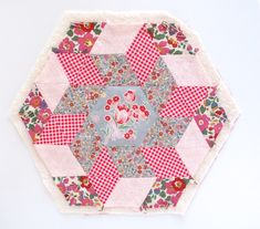 MessyJesse - a quilt blog by Jessie Fincham: English Paper Piecing Basics: Week 7 // Finishing Techniques