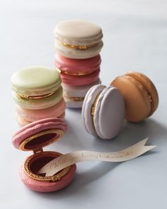 Ceramic Macaron Boxes-Bridesmaid Gift Ideas For The Ladies In Your Wedding Party | Martha Stewart Weddings