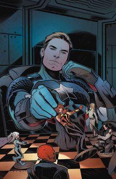 Captain America (Steve Rogers) by Elizabeth Torque
