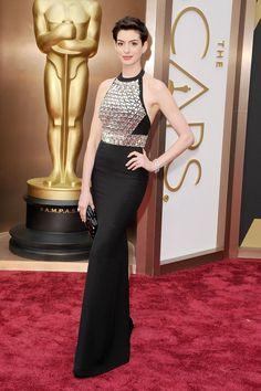 7) Anne Hathaway in Gucci - HarpersBAZAAR.com