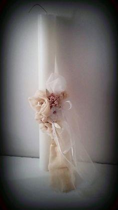 Unique first communion candle Catholic christening candles