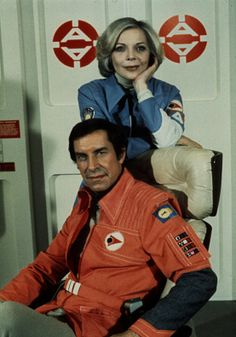 Publicity Stills For Space: 1999, Year 2: Barbara Bain in costume as Dr. Helena Russell, MD. | Retronaut