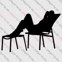 Pegame.es Online Decals Shop  #beach #deckchair #summer #chair #sun #heat #vinyl #sticker #pegatina #vinilo #stencil #decal