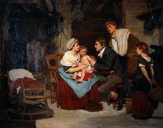 "Edward Jenner vacunado un niño (""Edward Jenner vaccinating a boy""). 1884. Localización: Welcome Library (Londres). https://painthealth.wordpress.com/2016/11/21/d-3/"