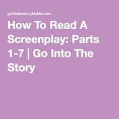In this series, I have laid out one approach to reading and analyzing screenplays. This is not intended to train you to be a script reader, but rather to provide a set of tools for writers to dig… Script Reader, Director's Chair, Digital Film, Movie Scripts, Film Industry, Screenwriting, Filmmaking, Writer, Films