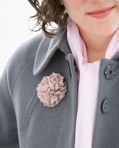 Blossoming Brooch | Martha Stewart