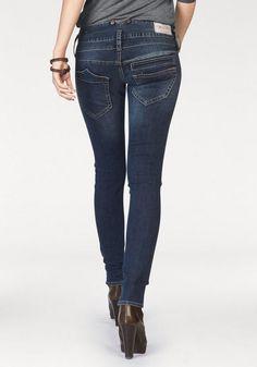 Herrlicher Slim-fit-Jeans »Pitch Slim« mit vorgezogenen Seitennähten