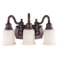 """Canterbury Collection 19"""" Wide Bathroom Light Fixture"""