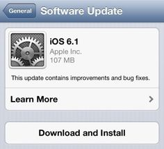 Apple releases iOS 6.1 with iTunes Match improvements, Siri movie ticket sales