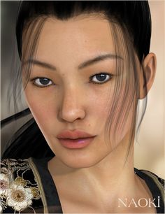 Naoki for V4 and V5 | 3D Models and 3D Software by Daz 3D