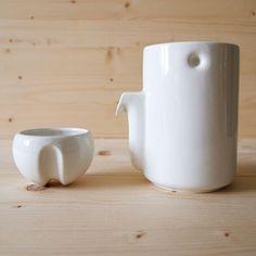 Newton Milk & Sugar Pot by Tonfisk www.funnshus.com