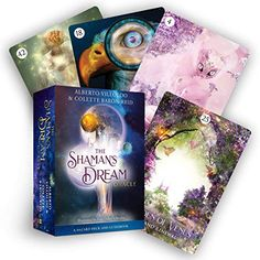 The Shaman's Dream Oracle: A 64-Card Deck and Guidebook by Alberto Villoldo Date, Deck Of Cards, Card Deck, Divination Cards, Tarot Cards, Religious Text, Psychic Mediums, Oracle Tarot, Oracle Deck