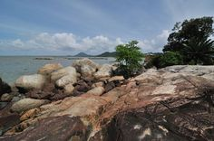 Simping, smallest island in the world, singkawang, west borneo.