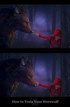 Teen Wolf - Derek Hale x Stiles Stilinski - Sterek Anime Kunst, Art Anime, Anime Wolf Drawing, Anime Sketch, Mythical Creatures Art, Fantasy Creatures, Fantasy Kunst, Fantasy Art, Fantasy Dress