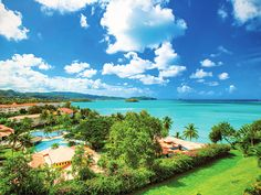 All-inclusive St. Lucia resort with six restaurants and bars, four pools, and an abundance of activities.  The Destination The warm, fragrant tropical air that steadily blows in from the azure ocean is part...