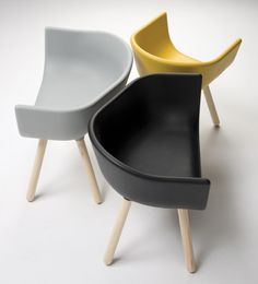 The Tulip collection, designed by Kazuko Okamoto for Chairs & More