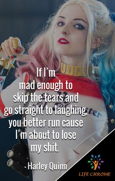 Harley Quinn quotes are the quotes for you to be inspired and get done more. Psycho Quotes, Mad Quotes, Bitch Quotes, Joker Quotes, Badass Quotes, Sarcastic Quotes, True Quotes, Harley And Joker Love, Joker Y Harley Quinn