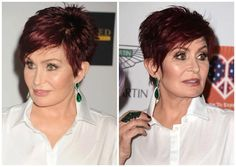 The Best Short Haircuts for Women Over 50: Sharon Osbourne