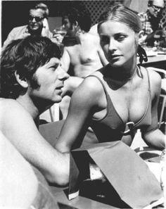 Roman Polanski & Sharon Tate.