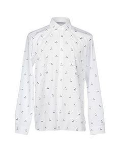 NEIL BARRETT Men's Shirt White 15 ¾ inches-neck