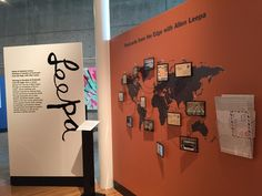 Postcards from the Edge with Allen Leepa Installation shot Leepa-Rattner Museum of Art on view until Sept. 24 2017 #TravelMW #MuseumWeek #LRMA