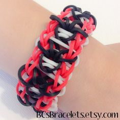 Rainbow Loom Mickey Mouse bracelet by BCsBracelets