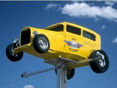 amarillas en el aire