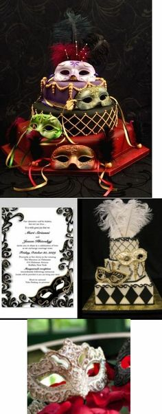 masquerade wedding theme