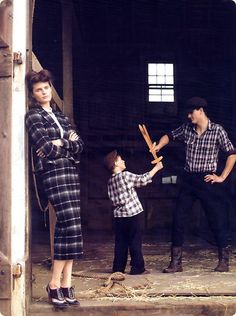 40's-inspired Vogue editorial styled by Grace Coddington/photo: Elgort