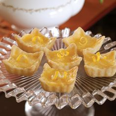 Now who doesn't love lemon squares? tarts? How about a combination of the two? Put the kettle on, we must have tea!