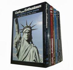 Curb Your Enthusiasm Seasons 1 8 Dvd Box Set Us 54 99
