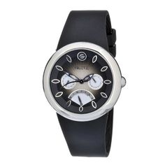Women's Wrist Watches - Philip Stein Womens F43SBRB Quartz Stainless Steel Black Dial Watch -- See this great product.