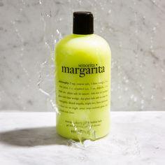 Best Shower Gels: Philosophy Señorita Margarita Shampoo, Conditioner, and Body Wash