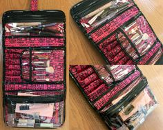Traveling with a Lot of Makeup: SOHO Travel Cases   Slashed Beauty
