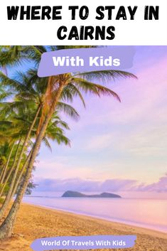 North Queensland is an excellent Australian holiday destination for families. You can base yourself either in Cairns or Port Douglas and tool around the area for several days, making day trips to each of the area's main attractions. In this post, we will share what we think are the best Cairns family accommodations. #travelwithkids #familytravel #cairns #queensland #australia #familyholidays Australia Travel Guide, Queensland Australia, Western Australia, Travel With Kids, Family Travel, Travel Around The World, Around The Worlds, Australian Holidays, Cairns Queensland