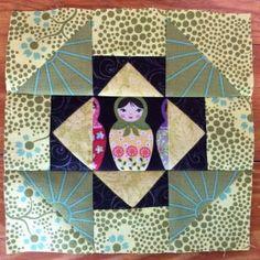 Block 37 designed by Laura Flynn: Dashing designed by Chocolate