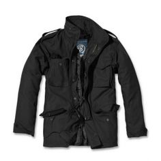 Black Brandit Classic Jacket is on sale now at the UK based Military online store. We offer a massive selection of military style coats and jackets, and fast delivery across Europe. Black Military Jacket, Military Style Coats, Military Parka, Army Style, Vintage Man, Style Vintage, Men's Coats And Jackets, Winter Jackets, Style Gentleman