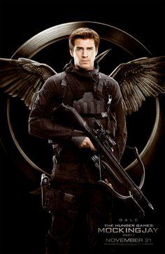 The Hunger Games, Jogos Vorazes, Mockingjay part 1, A Esperança parte 1. Gale