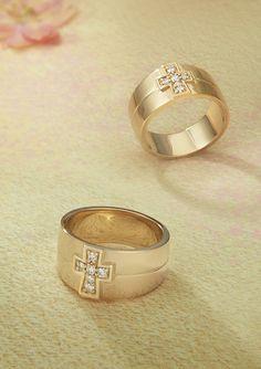Diamond Cross Band from James Avery Jewelry