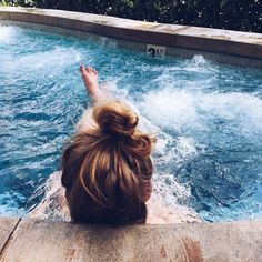 Ashley // Would you like to just hang around in the hottub for a bit, Bianca? I figured a bit of relaxing might do you well, considering everything.