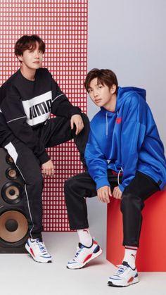 Namjoon and Hoseok Jimin, Bts Bangtan Boy, Jung Hoseok, Kim Namjoon, Seokjin, Foto Bts, Bts Photo, K Pop, Hip Hop