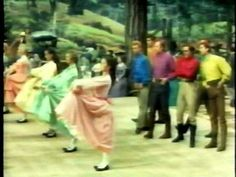 """Here is the barn dance scene from the movie """"Seven Brides For Seven Brothers."""" The choregraphy was created by Michael Kidd & I think it is one of the best choregraphed dance in cinema history. I just love it & I hope you do too!!"""