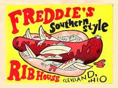 Polish Boy from Freddie's Rib House in Cleveland