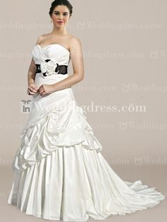 Plus Size Wedding Dresses-Style PS090
